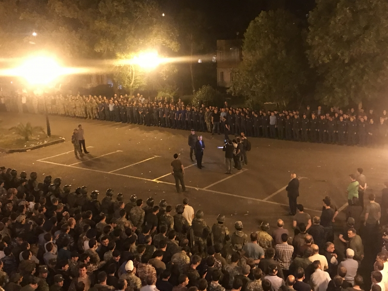 The Head of State Thanked the Employees of the Law Enforcement Agencies Who Were on Duty during the Protests